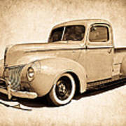 1940 Ford Pickup Poster