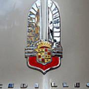 1941 Cadillac Emblem Poster