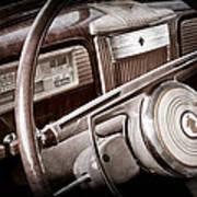 1941 Packard Steering Wheel Emblem Poster