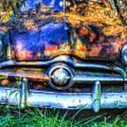 1950 Ford To Be Reconditioned Poster