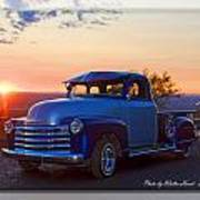 1951 Chevy Pick Up Poster