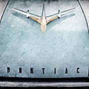 1955 Pontiac Safari Hood Ornament - Emblem Poster