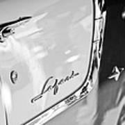 1955 Pontiac Safari Station Wagon Emblem Poster