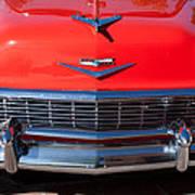 1956 Chevrolet Belair Convertible Custom V8 Poster