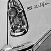 1956 Chevrolet Belair Taillight Emblem Poster