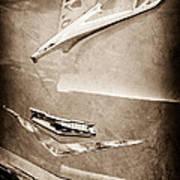 1956 Chevrolet Hood Ornament Poster