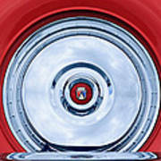 1956 Ford Thunderbird Spare Tire Emblem Poster