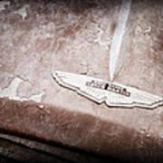 1957 Aston Martin Db2-4 Mkii Emblem Poster