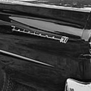 1957 Ford Fairlane Convertible Wheel Emblem Poster