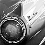1957 Ford Ranchero Pickup Truck Taillight Poster by Jill Reger