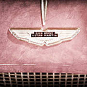 1959 Aston Martin Db Mk IIib Drophead Coupe Emblem Poster