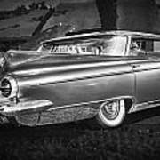1959 Buick Electra 225 Bw Poster