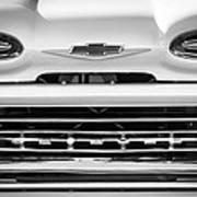 1961 Chevrolet Grille Emblem Poster