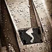 1963 Studebaker Avanti Hood Ornament Poster