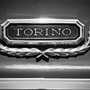 1965 Ford Torino Emblem Poster