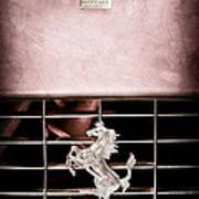 1966 Ferrari 330 Gtc Coupe Grille Emblem Poster