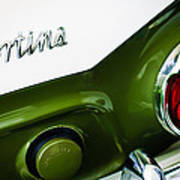 1966 Lotus Cortina Mk1 Taillight Emblem Poster