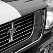 1966 Shelby Gt 350 Grille Emblem Poster