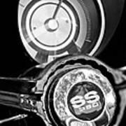 1967 Chevrolet Camaro  Ss Steering Wheel Emblem Emblem Poster