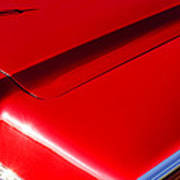 1967 Lincoln Continental Hood Ornament Poster