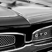 1967 Pontiac Gto Grille Emblem Poster