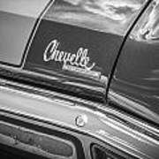 1970 Chevy Chevelle 454 Ss Bw  Poster