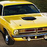 1970 Plymouth Hemi 'cuda Poster