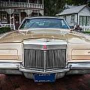 1971 Lincoln Continental Mark IIi Painted  Poster