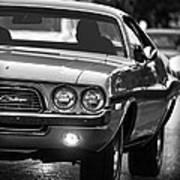 1972 Dodge Challenger Poster
