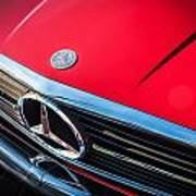 1984 Mercedes 500 Sl Convertible Poster