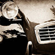 1988 Citroen 2cv Charleston Poster