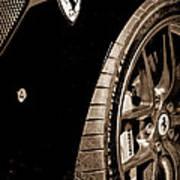 2011 Ferrari 599 Gto Emblem - Wheel Poster