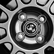 2013 Fiat Abarth Wheel Emblem Poster