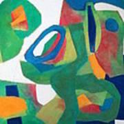 Adagio Poster by Diane Fine