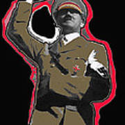 Adolf Hitler Saluting 2 Circa 1933 Poster
