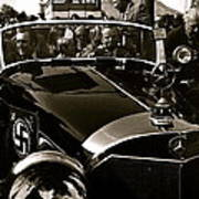 Adolf Hitler's 1941 Mercedes-benz 770-k Touring Car Sold At Auction Scottsdale Arizona 1973 Poster