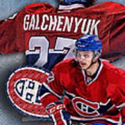 Galchenyuk Phone Cover Poster