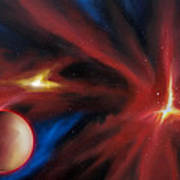 Agamnenon Nebula Poster