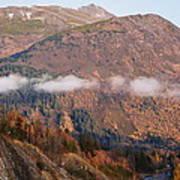 Alaskan Mountains Poster