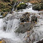 Alaskan Waterfall Poster