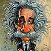Albert Einstein Poster by Art