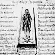 Albrecht Von Wallenstein (1583-1634) Poster