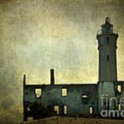 Alcatraz Island Lighthouse Poster