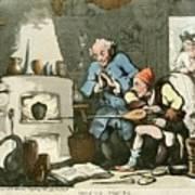 Alchemist At Work Poster