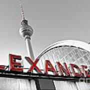 Alexander Platz - Berlin Poster