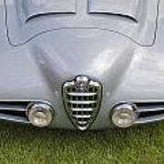 Alfa Romeo 1900 Ss Zagato Berlinetta 1956 Poster