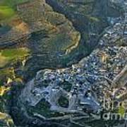 Alhama De Granada From The Air Poster