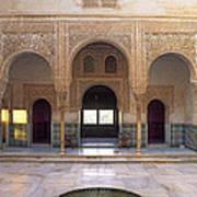 Alhambra Palace Patio Del Cuarto Dorado Poster