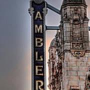 Ambler Theater - Ambler Pa Poster