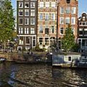 Amsterdam - Old Houses At The Herengracht Poster